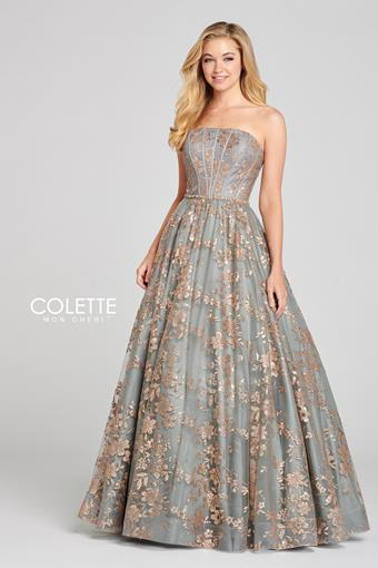 Sequin Ball Gown CL12127
