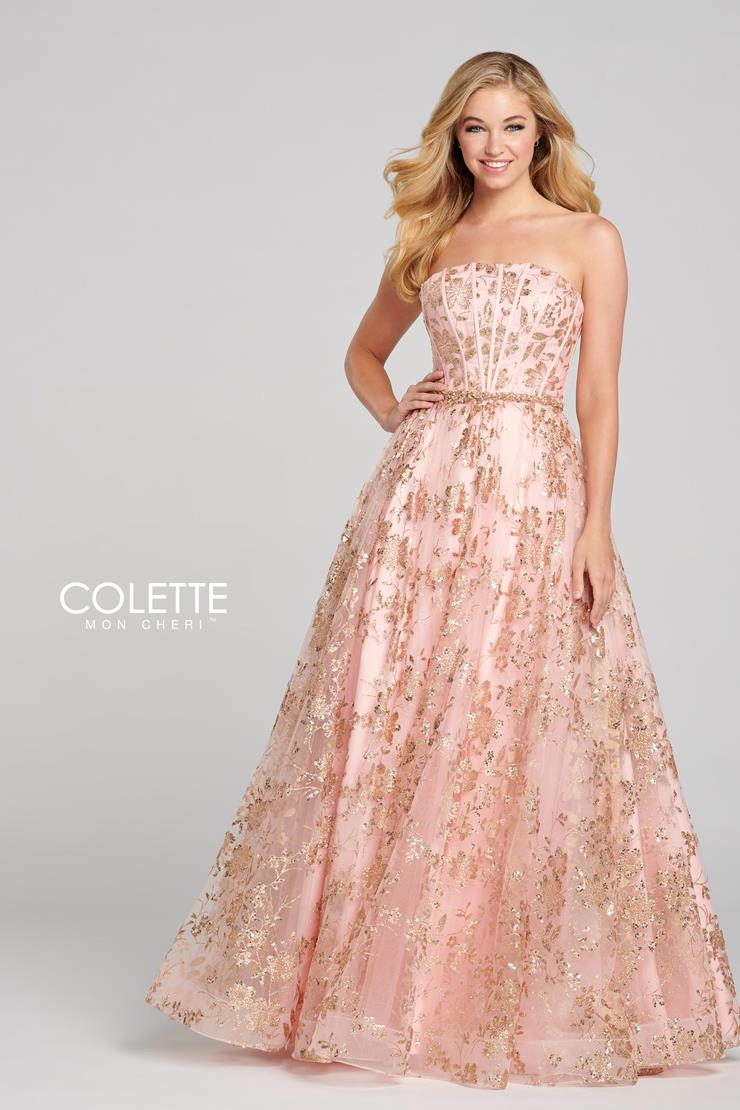 Colette for Mon Cheri Prom Dresses Sequin Ball Gown CL12127