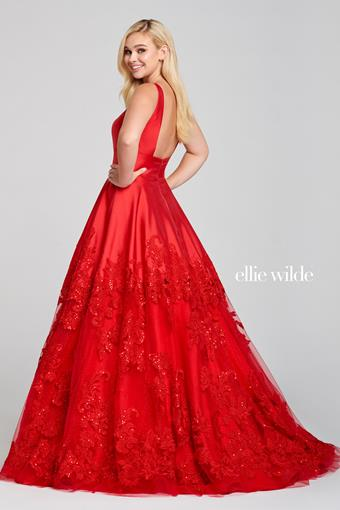 V-Neck Ball Gown