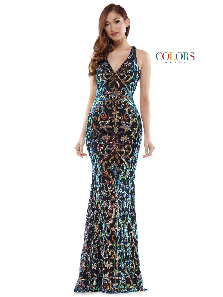 Colors Dress Style #2520