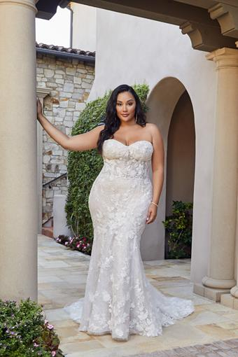 Casablanca Bridal Style 2438C