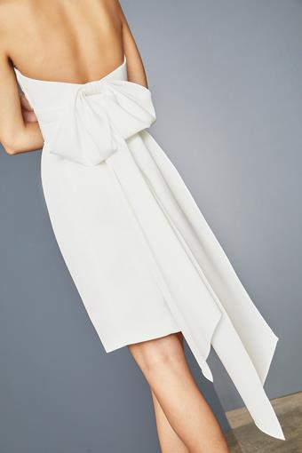 Amsale Little White Dress Style #LW150