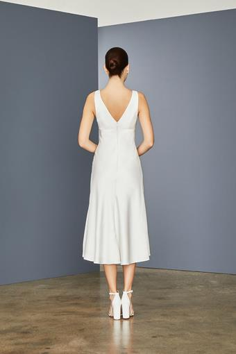 Amsale Little White Dress Style #LW153