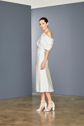 Amsale Little White Dress Style #LW154