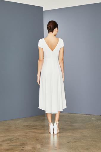 Amsale Little White Dress Style #LW155