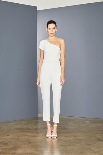 Amsale Little White Dress Style #LW157