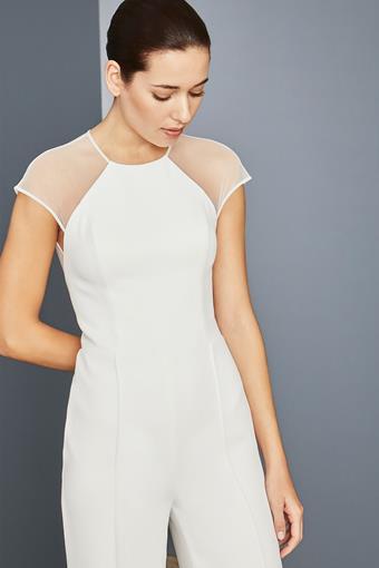 Amsale Little White Dress Style #LW158