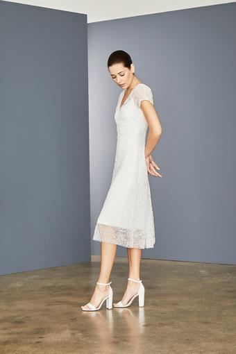 Amsale Little White Dress Style #LW160