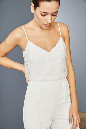 Amsale Little White Dress Style #LW161