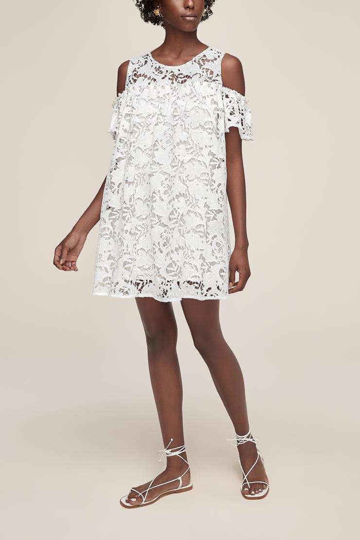 Little White Dress Style #C'est La Vie  Image