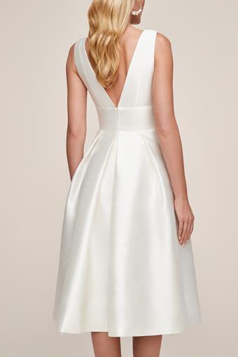 Amsale Little White Dress Style #Et Voila