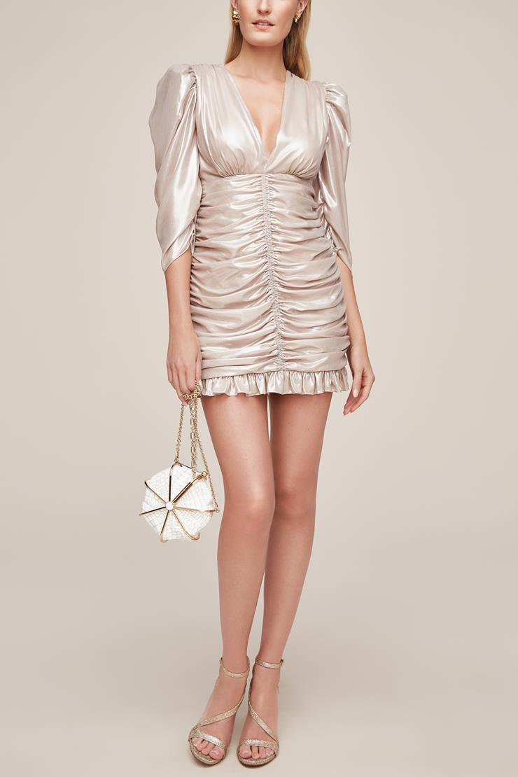 Little White Dress Style #Sparkling Champagne Image