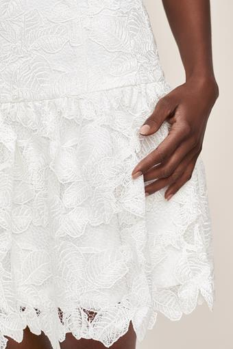 Amsale Little White Dress Style #Then I Met You