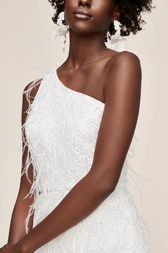 Amsale Little White Dress Style #Twinkle in Time