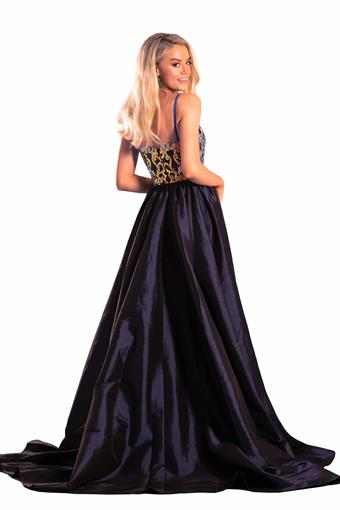 Portia and Scarlett Style #PS21043 NAVY MULTI