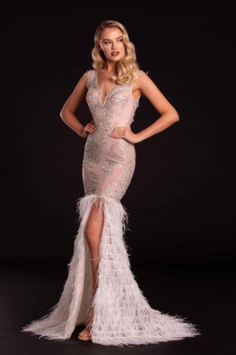 Portia and Scarlett Style #PS21234 IVORY NUDE