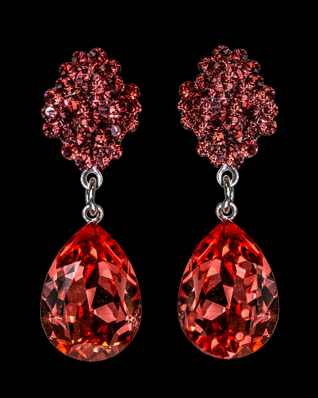 Jim Ball Designs Style #CE120517099 Padparadscha Silver
