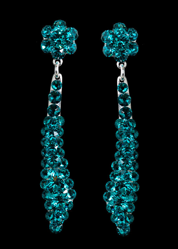 Jim Ball Designs Style #PV42525099 Blue Zircon Silver