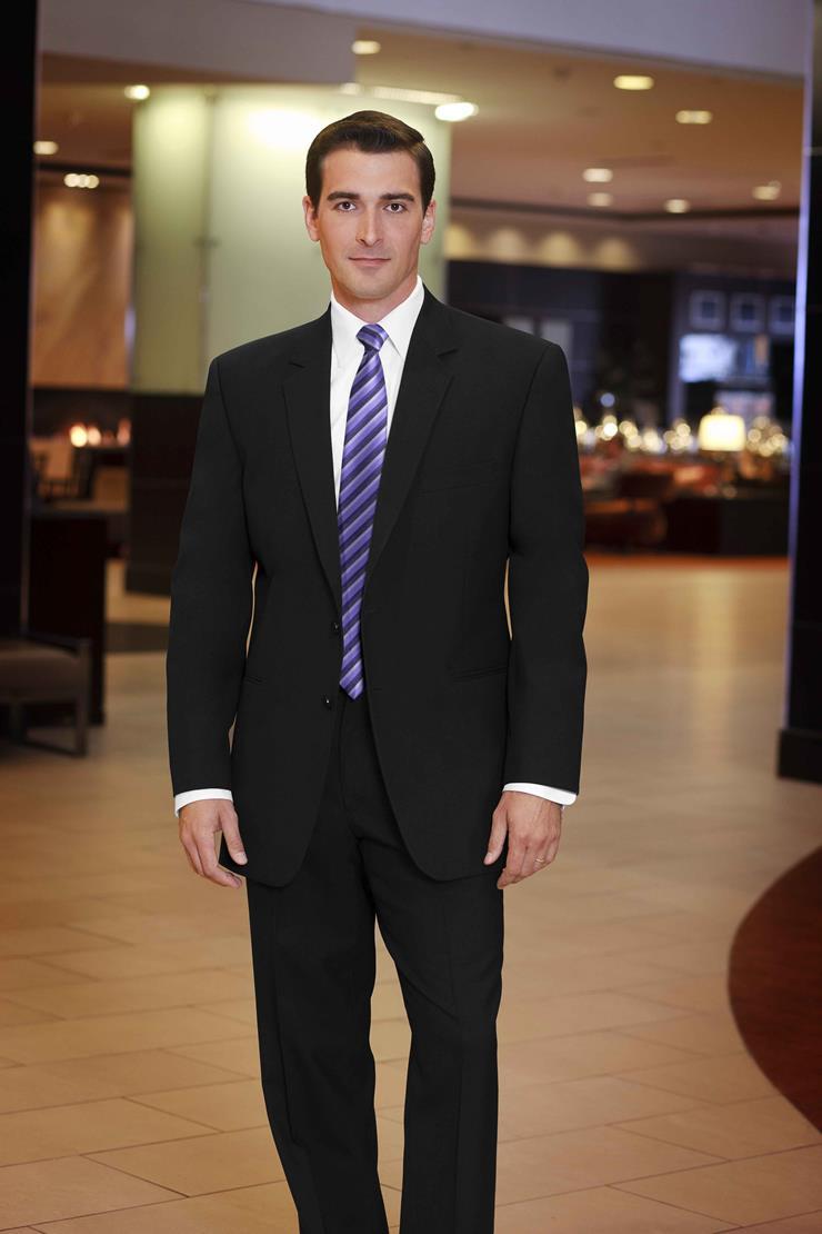 Jim's Formal Wear Style #BLACK SUIT - STEPHEN GEOFFREY  Image