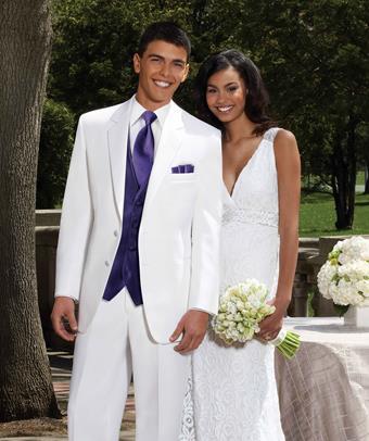 Jim's Formal Wear Style #WHITE TROY - STEPHEN GEOFFREY