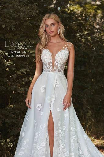 L'Amour by Calla Blanche Style #LA21101