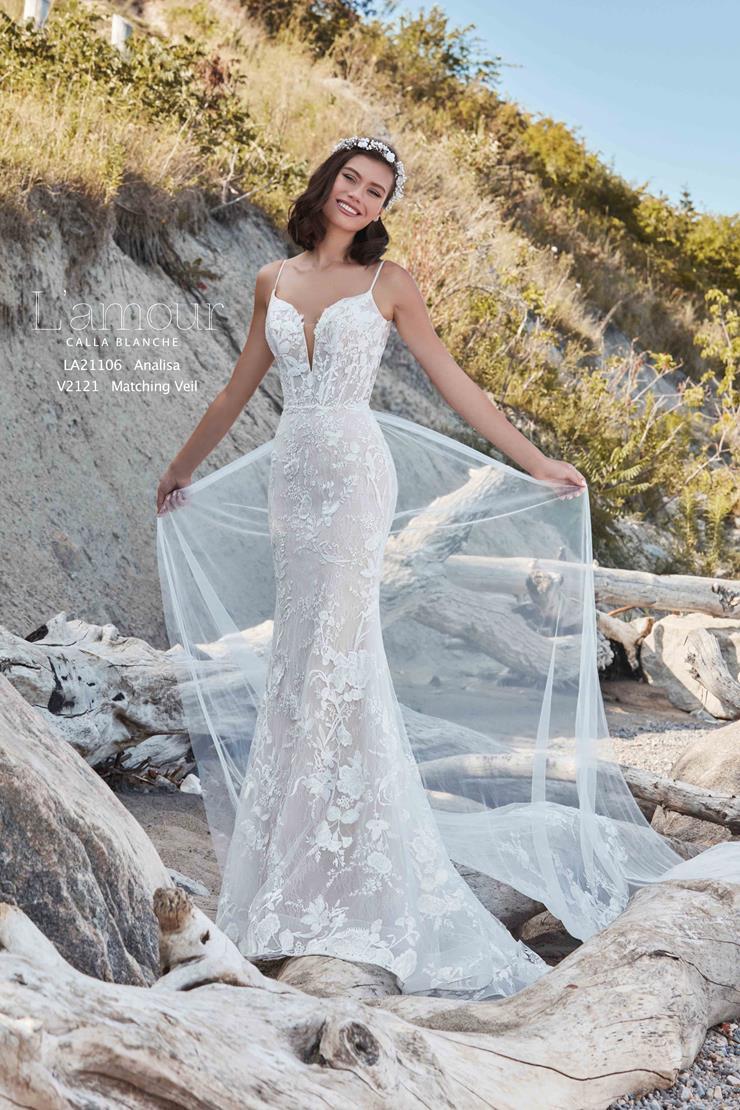 L'Amour by Calla Blanche Style #LA21106  Image