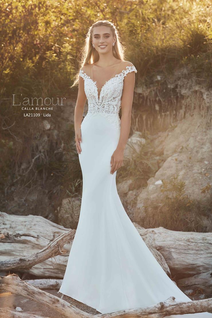 L'Amour by Calla Blanche Style #LA21109  Image