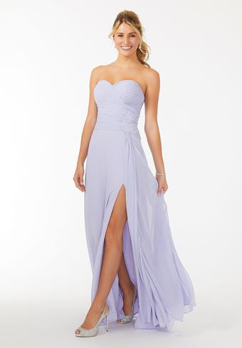 Morilee Draped Sweetheart Chiffon Bridesmaid Dress