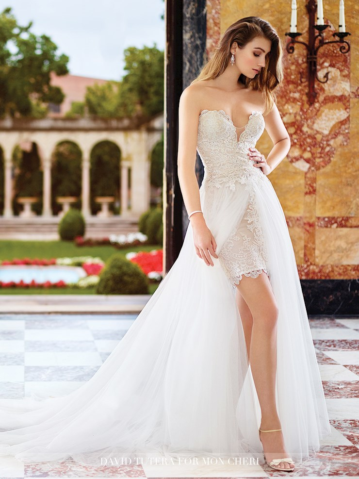 David Tutera for Mon Cheri Style #117265