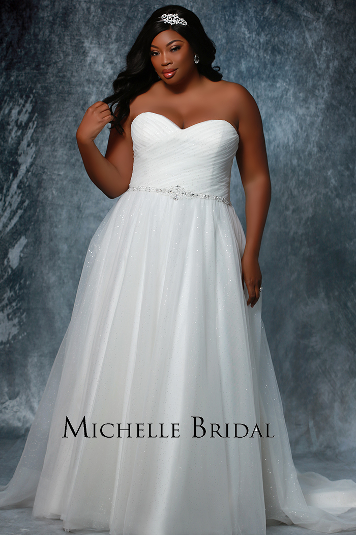 Michelle Bridal Style #MB1604  Image
