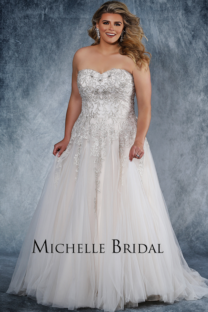 Michelle Bridal Style #MB1819 Image