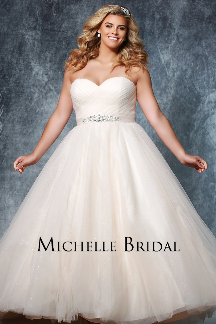 Michelle Bridal Style #MB1918 Image