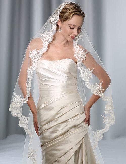 Bel Aire Bridal Style #V7175C