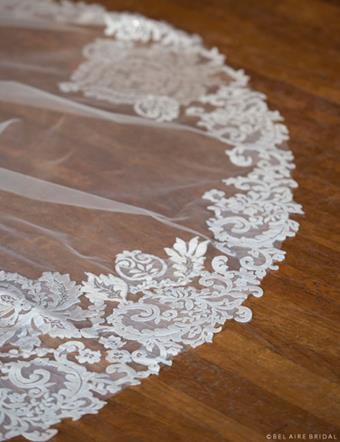 Bel Aire Bridal Style #V7377C