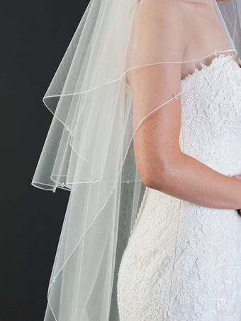 Bel Aire Bridal Style #V7458