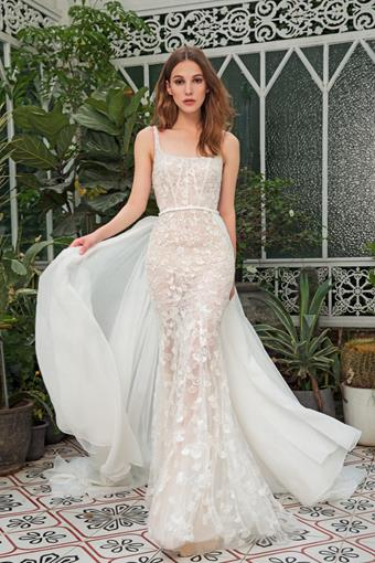 Dany Tabet #Coral Overskirt