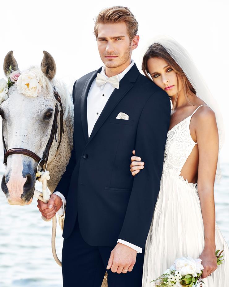 Michael Kors 372 Wedding Suit - Slim Fit Image