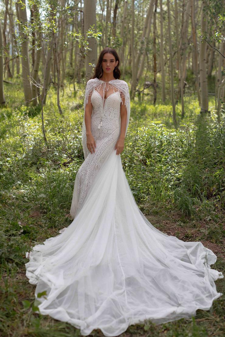 Allure Wilderly Bride Style #Shelby Cape Image