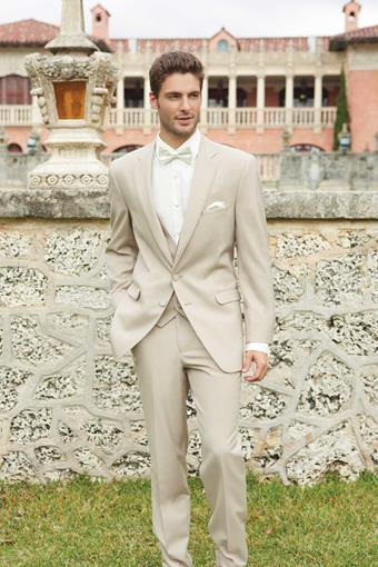 Allure Men 226M Tan Wedding Suit