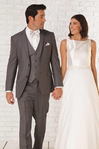 GiNovia Moda 245M Smoke Grey Wedding Suit