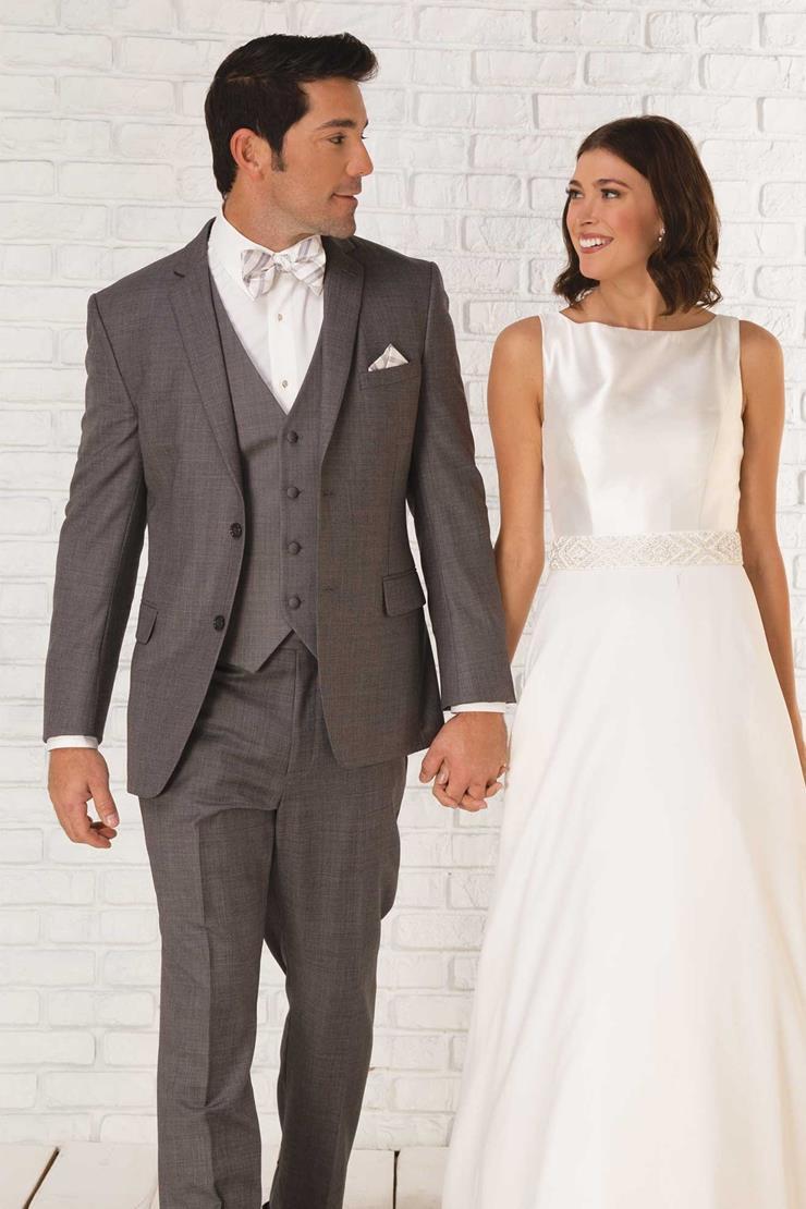 GiNovia Moda 245M Smoke Grey Wedding Suit Image