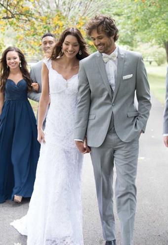 GiNovia Moda 253M Heather Grey Hamilton Wedding Suit