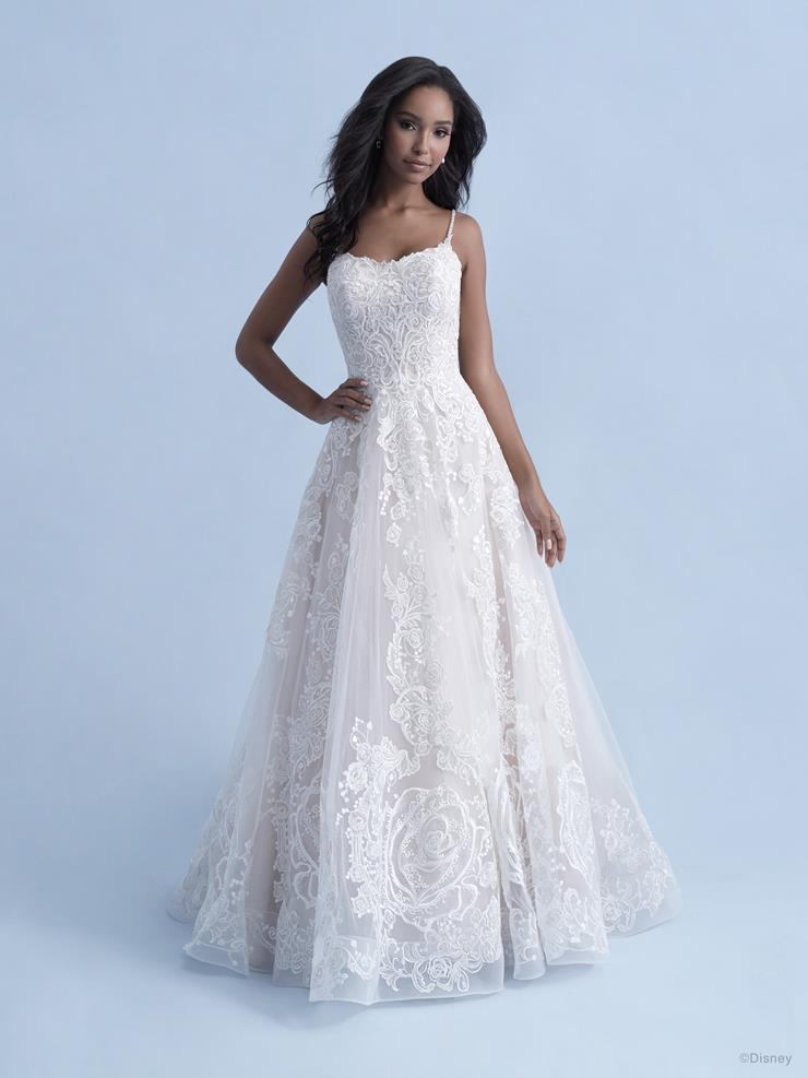Disney Fairy Tale Weddings Style #D282 - Belle (Not in Store)  Image