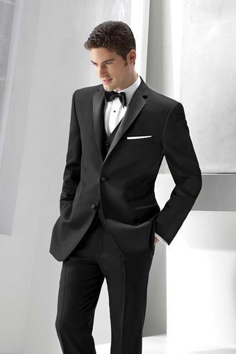 Ike Behar 228M Black Parker Tuxedo