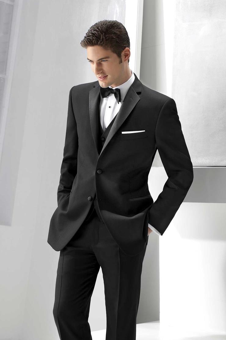 Ike Behar 228M Black Parker Tuxedo Image