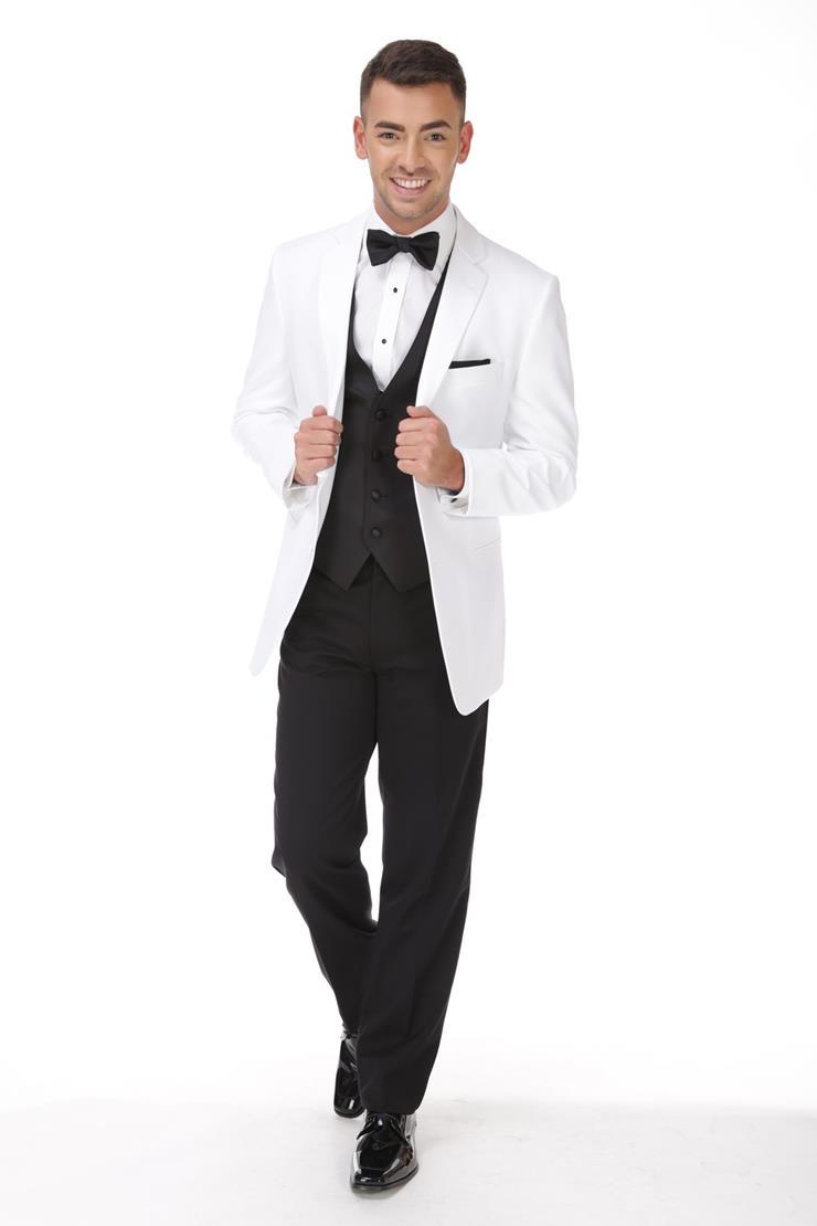 Jean Yves 208M White Essentials Tuxedo Image