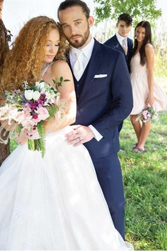 David Major Select 257M Navy Wedding Suit
