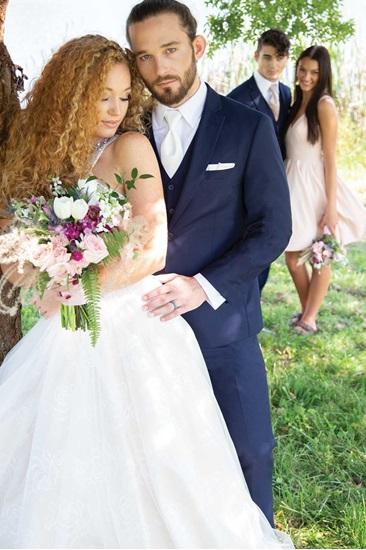 David Major Select 257M Navy Wedding Suit Image