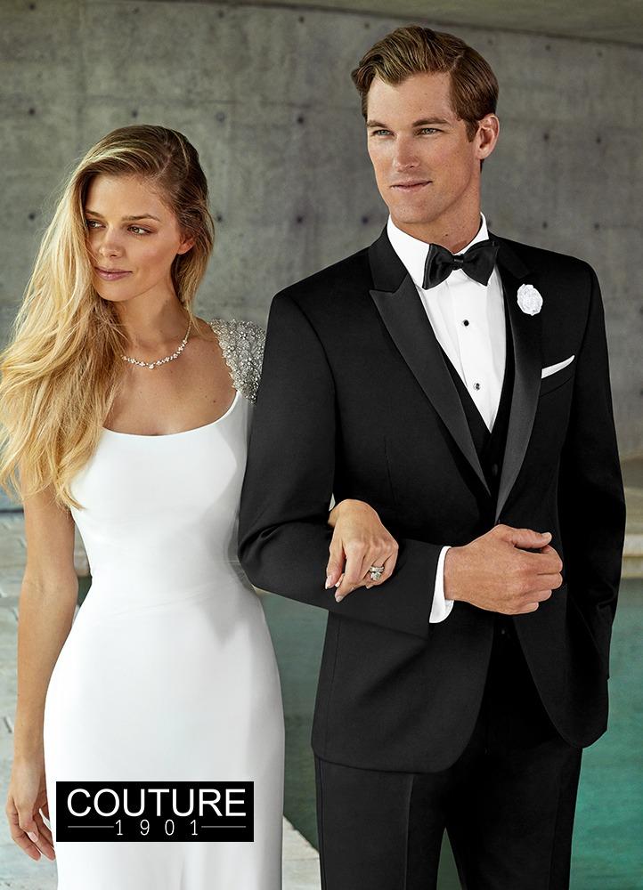 Couture 1901 255M Black Jasper Tuxedo Image