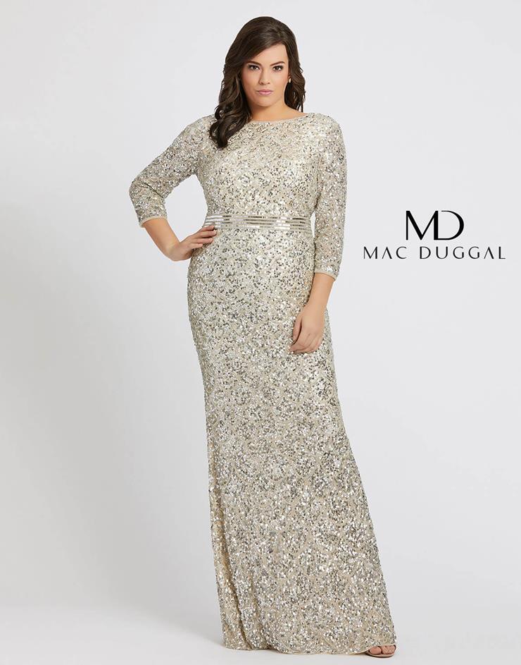 Mac Duggal Style #5025F  Image
